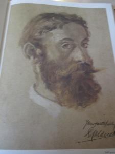 An undated self portrait